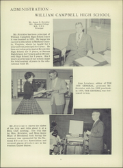 Page 13, 1959 Edition, William Campbell High School - General Yearbook (Naruna, VA) online yearbook collection