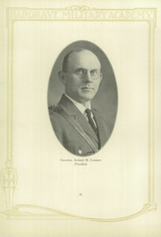 Page 16, 1928 Edition, Hargrave Military Academy - Cadence Yearbook (Chatham, VA) online yearbook collection