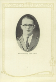 Page 17, 1928 Edition, Hargrave Military Academy - Cadence Yearbook (Chatham, VA) online yearbook collection