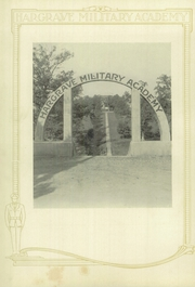 Page 6, 1928 Edition, Hargrave Military Academy - Cadence Yearbook (Chatham, VA) online yearbook collection