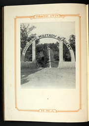 Page 12, 1929 Edition, Hargrave Military Academy - Cadence Yearbook (Chatham, VA) online yearbook collection
