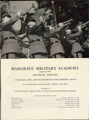Page 5, 1945 Edition, Hargrave Military Academy - Cadence Yearbook (Chatham, VA) online yearbook collection