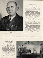 Page 8, 1945 Edition, Hargrave Military Academy - Cadence Yearbook (Chatham, VA) online yearbook collection