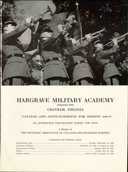 Page 5, 1946 Edition, Hargrave Military Academy - Cadence Yearbook (Chatham, VA) online yearbook collection