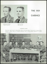 Page 10, 1959 Edition, Hargrave Military Academy - Cadence Yearbook (Chatham, VA) online yearbook collection