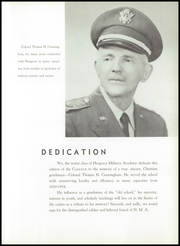 Page 13, 1959 Edition, Hargrave Military Academy - Cadence Yearbook (Chatham, VA) online yearbook collection