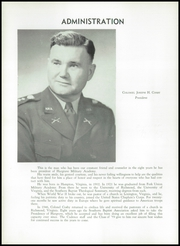 Page 16, 1959 Edition, Hargrave Military Academy - Cadence Yearbook (Chatham, VA) online yearbook collection
