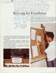 Page 6, 1986 Edition, Hargrave Military Academy - Cadence Yearbook (Chatham, VA) online yearbook collection