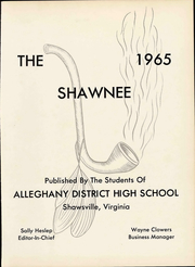 Page 7, 1965 Edition, Shawsville High School - Shawnee Yearbook (Shawsville, VA) online yearbook collection