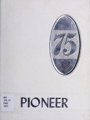 Ervinton High School - Pioneer Yearbook (Nora, VA) online yearbook collection, 1975 Edition, Page 1