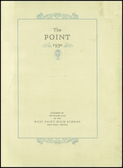 Page 9, 1930 Edition, West Point High School - Point Yearbook (West Point, VA) online yearbook collection