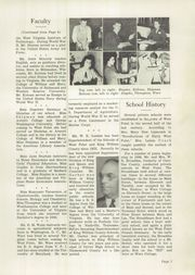 Page 11, 1949 Edition, West Point High School - Point Yearbook (West Point, VA) online yearbook collection