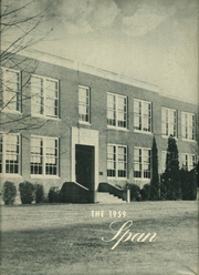 Natural Bridge High School - Span Yearbook (Natural Bridge Station, VA) online yearbook collection, 1959 Edition, Page 1