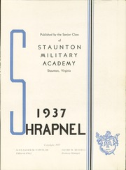 Page 7, 1937 Edition, Staunton Military Academy - Shrapnel Yearbook (Staunton, VA) online yearbook collection