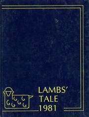 1981 Edition, St Agnes School - Lambs Tale Yearbook (Alexandria, VA)
