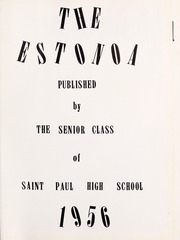 Page 5, 1956 Edition, St Paul High School - Estonoa Yearbook (St Paul, VA) online yearbook collection