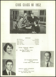 Page 14, 1952 Edition, Clifton Forge High School - Alleghanian Yearbook (Clifton Forge, VA) online yearbook collection
