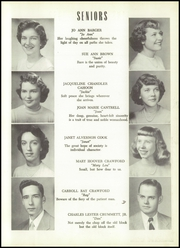 Page 15, 1952 Edition, Clifton Forge High School - Alleghanian Yearbook (Clifton Forge, VA) online yearbook collection