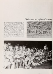 Page 6, 1972 Edition, Blair High School - Beehive Yearbook (Williamsburg, VA) online yearbook collection