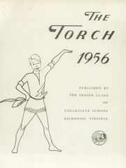 Page 5, 1956 Edition, Collegiate High School - Torch Yearbook (Richmond, VA) online yearbook collection