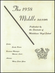 Page 5, 1958 Edition, Middlesex High School - Chanticleer Yearbook (Saluda, VA) online yearbook collection