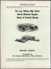 Page 12, 1972 Edition, Lucy Addison High School - Pin Yearbook (Roanoke, VA) online yearbook collection