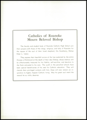 Page 6, 1958 Edition, Roanoke Catholic High School - Key Yearbook (Roanoke, VA) online yearbook collection