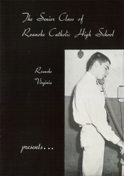 Page 6, 1960 Edition, Roanoke Catholic High School - Key Yearbook (Roanoke, VA) online yearbook collection