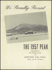 Page 5, 1957 Edition, Montevideo High School - Peak Yearbook (Penn Laird, VA) online yearbook collection