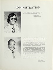 Page 9, 1975 Edition, Onancock High School - Trident / Beacon Yearbook (Onancock, VA) online yearbook collection