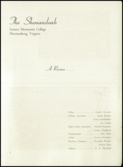 Page 5, 1952 Edition, Eastern Mennonite School - Shenandoah Yearbook (Harrisonburg, VA) online yearbook collection