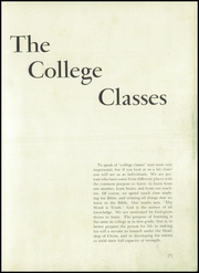 Page 11, 1953 Edition, Eastern Mennonite School - Shenandoah Yearbook (Harrisonburg, VA) online yearbook collection