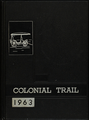 1963 Edition, Surry County High School - Colonial Trail Yearbook (Dendron, VA)
