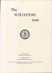 Page 11, 1949 Edition, Episcopal High School - Whispers Yearbook (Alexandria, VA) online yearbook collection