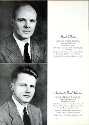 Page 10, 1953 Edition, Episcopal High School - Whispers Yearbook (Alexandria, VA) online yearbook collection