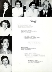 Page 14, 1953 Edition, Episcopal High School - Whispers Yearbook (Alexandria, VA) online yearbook collection
