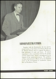 Page 16, 1951 Edition, Woodberry Forest High School - Fir Tree Yearbook (Woodberry Forest, VA) online yearbook collection