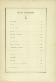 Page 11, 1936 Edition, Madeira School - Epilogue Yearbook (McLean, VA) online yearbook collection