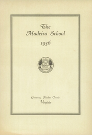 Page 9, 1936 Edition, Madeira School - Epilogue Yearbook (McLean, VA) online yearbook collection
