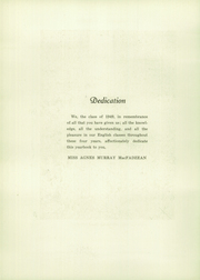Page 6, 1949 Edition, Madeira School - Epilogue Yearbook (McLean, VA) online yearbook collection