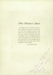 Page 8, 1949 Edition, Madeira School - Epilogue Yearbook (McLean, VA) online yearbook collection
