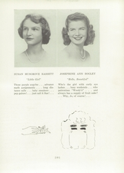 Page 27, 1950 Edition, Madeira School - Epilogue Yearbook (McLean, VA) online yearbook collection