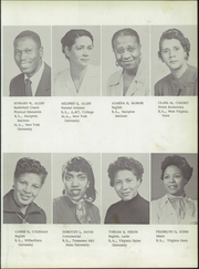 Page 11, 1955 Edition, Langston High School - Lion Yearbook (Danville, VA) online yearbook collection