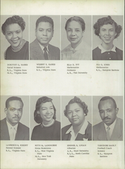 Page 12, 1955 Edition, Langston High School - Lion Yearbook (Danville, VA) online yearbook collection