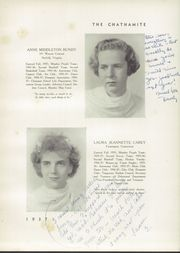 Page 13, 1937 Edition, Chatham Hall - Chathamite Yearbook (Chatham, VA) online yearbook collection