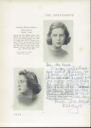 Page 13, 1938 Edition, Chatham Hall - Chathamite Yearbook (Chatham, VA) online yearbook collection