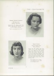 Page 15, 1938 Edition, Chatham Hall - Chathamite Yearbook (Chatham, VA) online yearbook collection