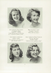 Page 15, 1949 Edition, Chatham Hall - Chathamite Yearbook (Chatham, VA) online yearbook collection