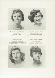 Page 17, 1949 Edition, Chatham Hall - Chathamite Yearbook (Chatham, VA) online yearbook collection