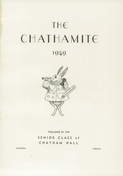 Page 5, 1949 Edition, Chatham Hall - Chathamite Yearbook (Chatham, VA) online yearbook collection